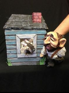 """Artist in Residence Brad Shur perfroms """"The Magic Soup and Other Stories"""" at Puppet Showplace Theatre, March 27-30th 2014. This show explores Yiddish cultural traditions."""