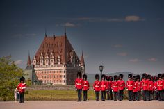 Changing of the Guard ceremony at the Citadel Old Quebec, Montreal Quebec, Quebec City, O Canada, Canada Travel, Ontario, Province Du Canada, British North America, Chute Montmorency
