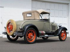 1928 Ford Convertible