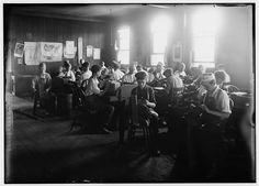 Cigar Factory, Indianapolis, Ind. Boys in foreground.