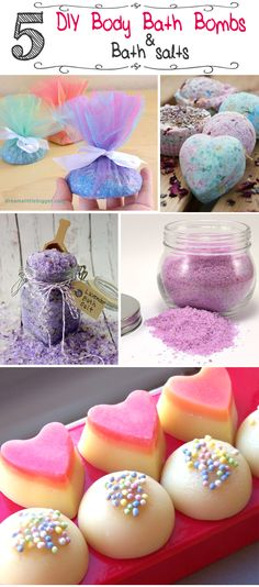5 Excellent DIY Body Bath Bombs