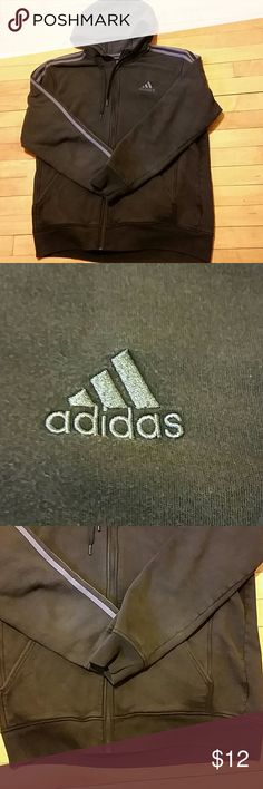 Adidas Men's Athletic Full Zip Hoodie Jacket Very nice and comfy Adidas Jackets & Coats Lightweight & Shirt Jackets