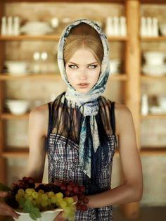 Model: Annica | Photographer: Dimitris Skoulos | Elle Greece Aug 2010