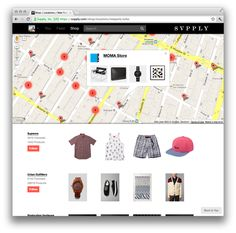 In an effort to repair the customer-retailer relationship and to help consumers discover new shopping spots, Svpply is an app allowing you to window-shop from your phone, showcasing what the store has inside.