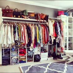 Finally a closet tour video up on my blog! Http://www.songofstyle.blogspot.com/2012/10/finally-closet-tour-video.html - @songofstyle- #webstagram