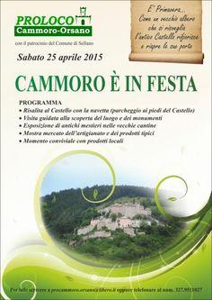 Cammoro e apos in festa e sabato 25 aprile 2015 il Castello si anima