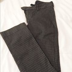 Black and Grey Plaid Trousers SALE  Dressy Black & Grey Trousers. Never Been Worn. Excellent Condition  GAP Pants Trousers
