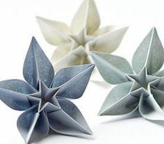 Un origami facile fleur - à offrir ou pour vous amuser tout en créant de belles choses!