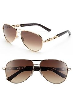 ec9766165c Jimmy Choo 59mm Aviator Sunglasses available at  Nordstrom Luxury Sunglasses