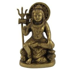 Shiva Lingam in Sitting Posture Brass Religious Gifts Size : 6.98 x 3.81 x 11.43 Cm: Amazon.co.uk: Kitchen & Home