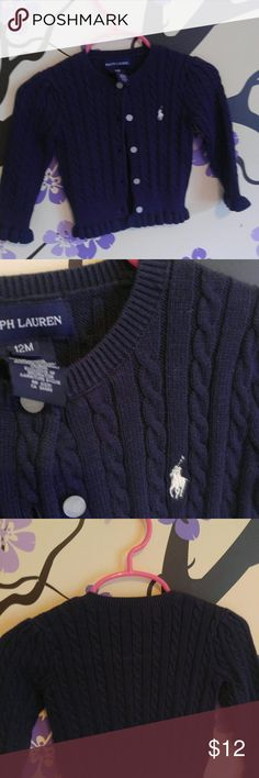 (3 for $25) Ralph Lauren Cardigan New listing: Purchase for list price or bundle with any items that says 3 for $25.  SAVE BIG!!! Bundle 3 and offer $25. Mix & Match: Womens, Kids, & Men Ralph Lauren Shirts & Tops Sweaters