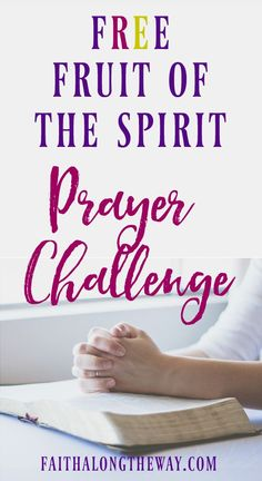 Living the Fruit of the Spirit in everyday life can seem impossible. But this free prayer challenge will help you experience freedom! prayer challenge I bible study I devotions for women I bible study for women I prayers Faith Along the Way Strength Bible, Prayers For Strength, Faith Bible, Faith In God, Devotional Bible, Bible Encouragement, Faith Walk, New Quotes, Faith Quotes
