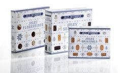 Quatre Mains package design - Package design end of year, knitwear, packaging