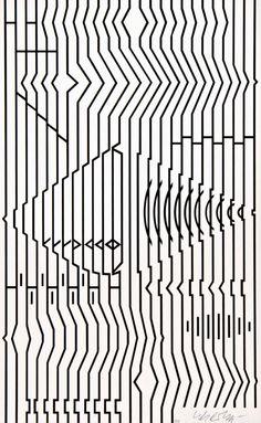 Victor Vasarely #blackandwhite #artwork #opart http://www.pinterest.com/TheHitman14/black-and-white/