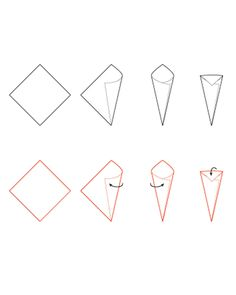 Make A Funnel Or Cone From Paper Templates And Printables