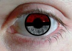 Pokeball Contact Lenses. Why I want these I do not know but their pretty epic