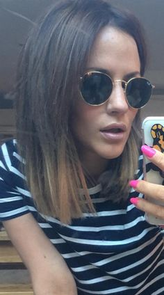 Caroline Flack's gone for a *major* hair change (and it's short, really short)