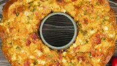Συνταγή για σουφλέ με ψωμί στη φόρμα του κέικ Grill Pan, Grilling, Griddle Pan, Crickets
