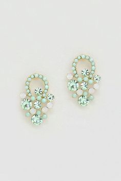Mintylicious Crystal Sabine Earrings