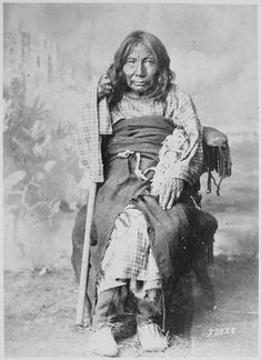 Poison, a Cheyenne woman almost 100 years old