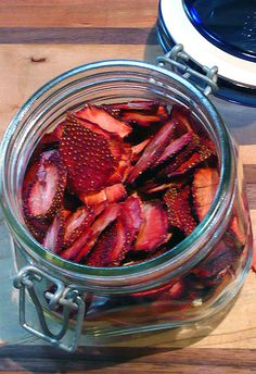 PreservingStrawberries via Freezing, Drying, Pureeing, &/or Canning.