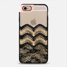 Black and Gold Lace Layers iPhone 6 Metaluxe Case by Organic Saturation | Casetify Get $10 off using code: 53ZPEA