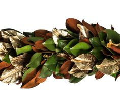 Gilded Magnolia Garland - and this too.
