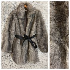 Marketplace for new and preloved fashion Grey Faux Fur Coat, Second Hand Clothes, Vintage, Fashion, Moda, Fashion Styles, Vintage Comics, Fashion Illustrations
