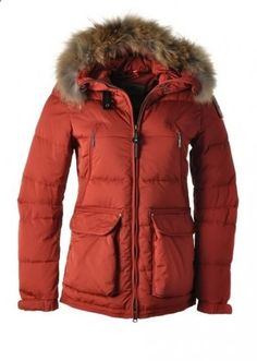 PJS Parajumpers New Alaska W Down Jacket Red