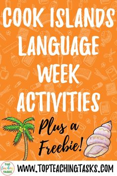 Kia Orana! I've put together this blog post to highlight Cook Islands Language Week Activities. Read on to gather some ideas for bringing the language and culture of the Cook Islands into your classroom this August.
