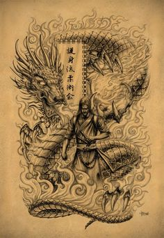 Samurai Dragon Japan
