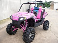 PINK Polaris RZR must have. but they dont make pink anymore. :(