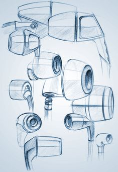 product doodles & renders on Behance