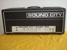 Sound City B150 Röhrenverstärker Bassverstärker in Hessen - Bischofsheim | Musikinstrumente und Zubehör gebraucht kaufen | eBay Kleinanzeigen