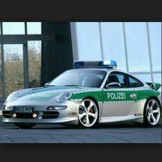2005 Techart Porsche 911 Carrera - Germany.. Reaches 186 mph, 0-60 in 4.5 sec. German police ride in style.