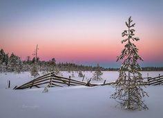 Фото Asko Kuittinen  Suomalainen maisema.