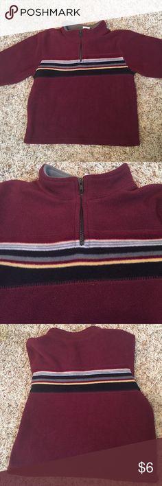 Gymboree sweatshirt with zipper pull Gymboree 2T-3T fleece sweatshirt.  Gently pre owned. Gymboree Shirts & Tops Sweatshirts & Hoodies