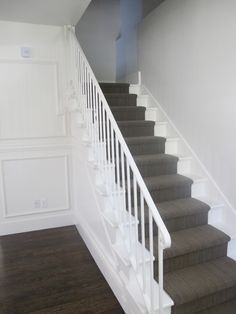Ruthless Stair Runner Carpet Diy Stairways Strategies Exploited In case you've got carpet in your own stairs, plus it's looking dingy, you can attemp. Tartan Stair Carpet, Grey Stair Carpet, Carpet Diy, Dark Carpet, Brown Carpet, Best Carpet, Carpet Stairs, Carpet Ideas, Cheap Carpet