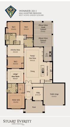 McDonald Jones Homes - The Beachside Collection - Floor Plan #floorplans #luxuryhome