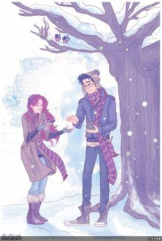 If you're under the impression by on James and Lily Harry Potter Mundo Harry Potter, Harry Potter Ships, Harry Potter Fan Art, Harry Potter Universal, Harry Potter Fandom, Harry Potter World, Harry Potter Memes, Lily Evans, Ravenclaw