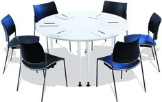 Eona Round Meeting Tables Rockdale Office Furnishers Foster - 6 person conference table
