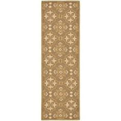 Shop for Safavieh Hand-hooked Chelsea Harmony Brown Wool Runner (2'6 x 12'). Get free shipping at Overstock.com - Your Online Home Decor Outlet Store! Get 5% in rewards with Club O! - 13497155