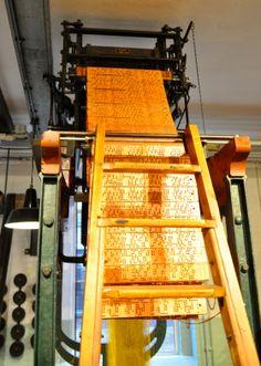 Jacquard kaarten voor weefgetouw - TextielMuseum Tilburg