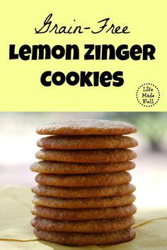 lemon zinger cookies
