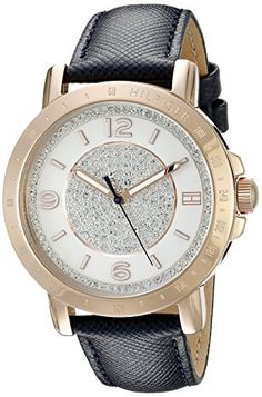 Women's Wrist Watches - Tommy Hilfiger Womens 1781627 Sophisticated Sport Analog Display Quartz Blue Watch * Find out more about the great product at the image link.