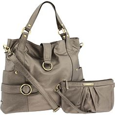THIS is the kind of diaper bag im going to carry! Very cool!   Timi & Leslie Diaper Bag