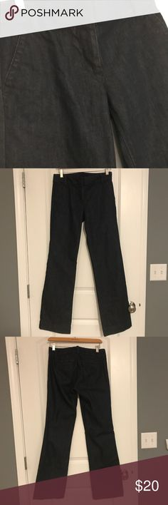 jcrew City Fit Trouser Tailored yet casual.  Love this style J. Crew Jeans Straight Leg