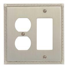 Georgian+Zinc+Duplex+and+Decora+Switch+Plate