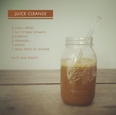 Juice ~ this one has ginger and oranges Colon Cleanse Drinks, Juice Cleanse Recipes, Juicer Recipes, Detox Recipes, Raw Food Recipes, Juice Smoothie, Smoothie Drinks, Smoothies, Healthy Juices