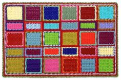 Lots of Different Square, Patterns and Tips on Joining Squares - from Gourmet Crochet